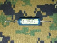 1 Mallory Blue Molded Ajax Capacitor .047 mfd @ 400v small body Fender