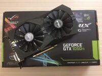ASUS GeForce GTX 1050 Ti STRIX 4GB GDDR5 Graphics Card