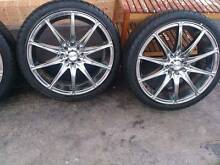 "17"" 4 Stud wheels and Tyres Dandenong South Greater Dandenong Preview"