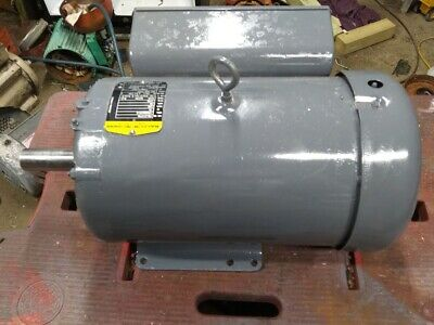 10hp Single Ph Electric Motor 1750 Rpm 230v 215t Fr Available 1 Week Vary Brand