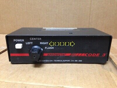 Code 3 Arrowstikmx Light Bar Led Controller Traffic Advisor Arrow Stick