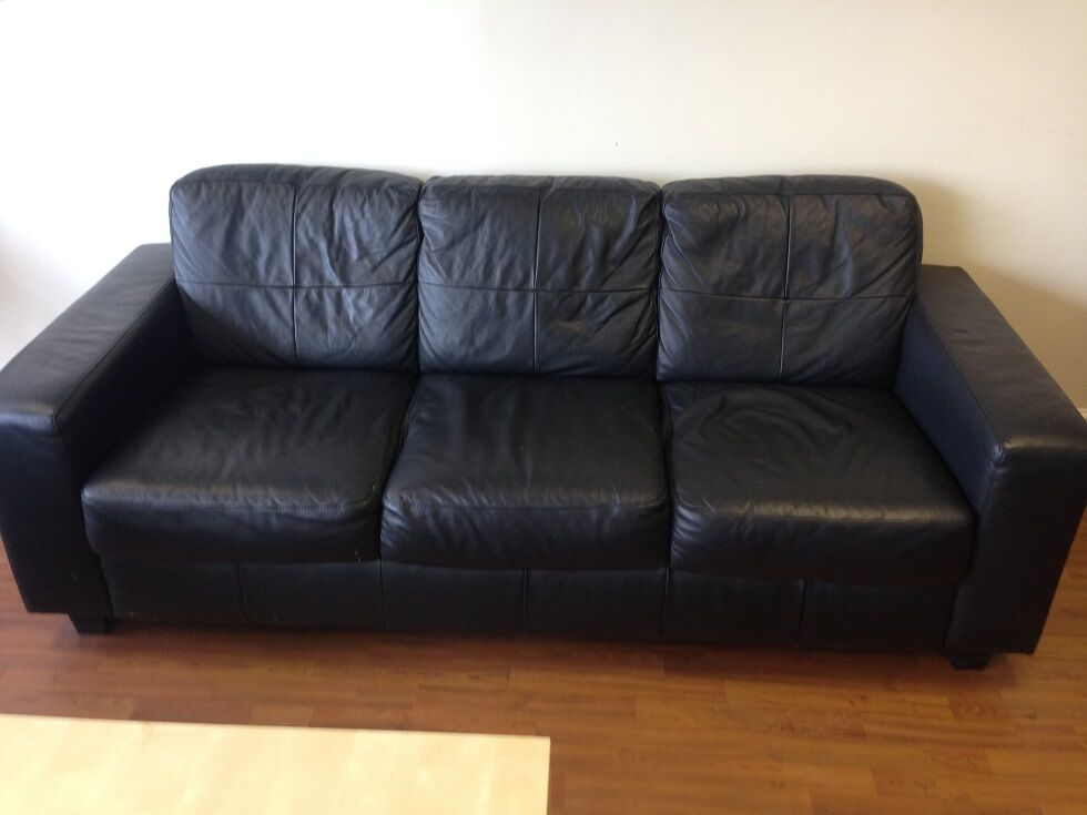 Ikea Leather Sofa Skogaby In Torquay Devon Gumtree