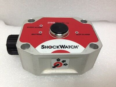 Shockwatch Shocklog 298 Shock Impact Sensor Recorder 298sh0z0