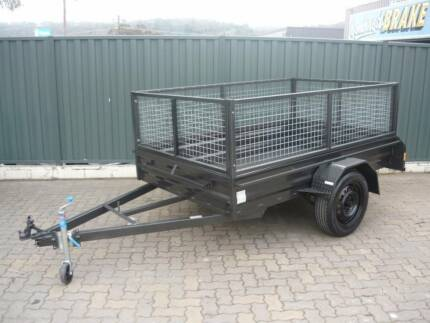 New 8 x 5 Heavy Duty High Side Trailer Package Queanbeyan Area Preview
