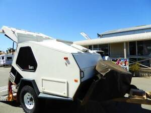 OFF ROAD TRACK TRAILER TVAN CANNING WITH SOLAR  11860 Maddington Gosnells Area Preview
