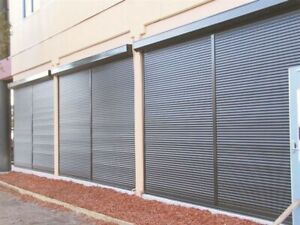 Tambour Doors and Roll Shutters