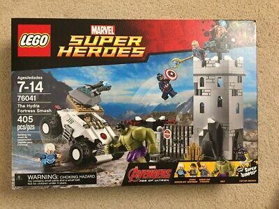 NISB Lego 76041 Hulk Quicksilver Baron Von Strucker Captain America NEW SEALED