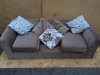 THREE SEATER SOFA WITH STORAGE FREE DELIVERY IN LIVERPOOL