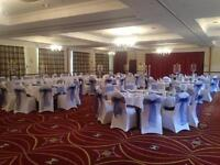cheapest Wedding/ Event decoration, chair and table covers hire in North west (Manchester)