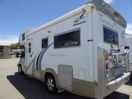 JAYCO OPTIMUM MOTORHOME WITH LOW KM + PERFECT CONDITION (BARGAIN)