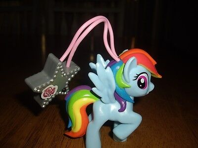 EUC My Little Pony Rainbow Dash Charmlite Light Up Horse and Flashlight - Rainbow Dash Light