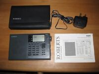 Roberts R809 Radio FM / LW / MW / SW digital receiver / world radio