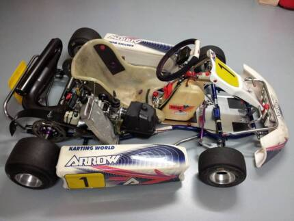 Go Kart Arrow AX8 with Rotax125cc plus Trailer Horsley Wollongong Area Preview