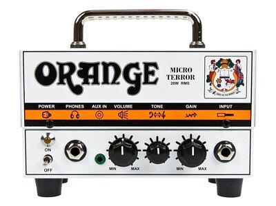 Orange Micro Terror Hybrid Gitarren Topteil 20 Watt Solid State Endstufe Aux in