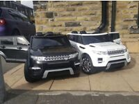 Range Rover HSE Style, 12v, Parental Remote & Self, White Or Black Available