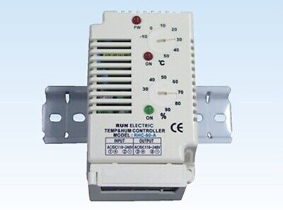 Run Electronic RHC-90A Temperature Humidity Controller -10~50C° 30~90% Heater