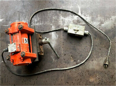 Vibco Hi-freq Concrete Vibrator Us-1600 W Clamp For Wood Forms - Barely Used