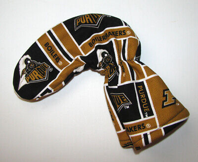 - PURDUE BOILERMAKERS Golf Putter Head Cover / Putter Club Cover