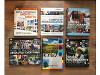6 Digital Photography Books by Tom Ang Camera Photo