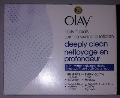 Daily Eye Makeup Remover - Olay Daily Facials Soap-Free Eye Makeup Remover and 4-In-1 water act cloths 101A