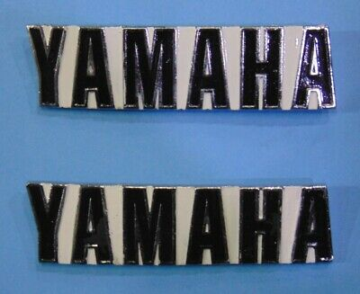Motor Emblem Rechts YAMAHA RD125 RD250 RD350 Engine Case Badge Right Hand Side