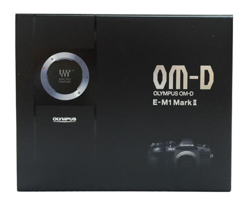 Olympus OM-D E-M1 Mark II Mirrorless Camera (Body Only) Black V207060BU000