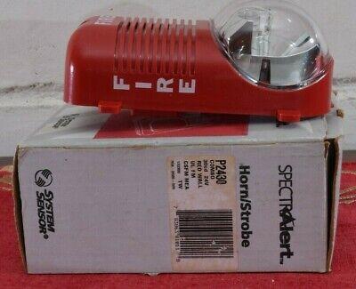 Spectra Alert P2430 Hornstrobe Light Combo Fire Alarm