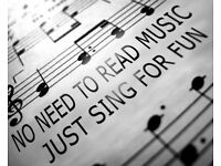 Forever Young Sing for Fun in Exeter - we are not a choir - St Sidwell's School, York Road, EX4 6PG
