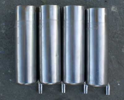 4 Used Westflaia Surge Milker Inflation Shell Teat Cups Dairy