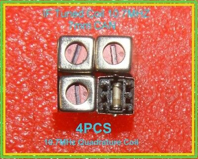 10.7 Mhz Fm Quadrature Coil 2.5uh 3.8uh Variable Tuned Inductor Lm3189 Ne602