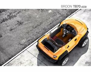 Spring Sale - $150 off Henes Broon T870 and F850 Ride on Car