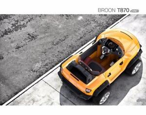 Holiday Sale now $50-150 off - Henes Broon T870 and F850 Ride on Car