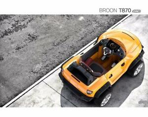 Fall Sale - $150 off Henes Broon T870 and F850 Ride on Car