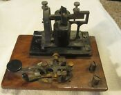 Western Union Telegraph Key