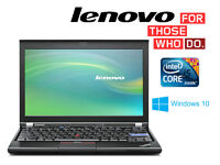 """May Deliver - Lenovo 12.5"""" Laptop - Intel Core i5 2.4Ghz - Win10 64Bit - Wireless - Webcam"""