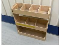 VAN RACK SHELVING - fits Ford Transit Connect or similar - very good condition!