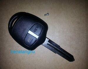 Fits Mitsubishi L200 Shogun Lancer OUTLANDER 2 Button FOB Remote Key Case