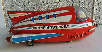 Vintage MODERN TOYS Japan TIN Toy MOON EXPLORER  Space Vehicle