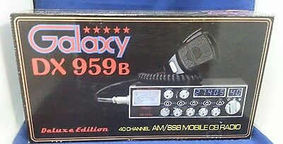 Galaxy DX-959B AM SSB CB Radio DX959B BRAND NEW MODEL!!!!