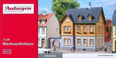 TT und Geschäftshaus Bausatz  Spur HO HS Auhagen  12347 Zweigeschossiges Wohn