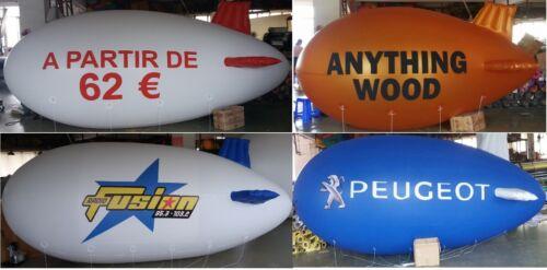 Branded Advertising Blimp Balloon Airship Promoblimp Zeppelin 4 metre