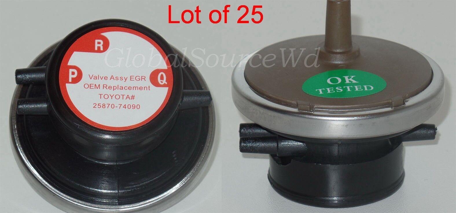 Lot of 25 Vacuum Solenoid Modulator EGR Valve Modulator Fits:Lexus Toyota Subaru