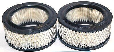 Air Filter - Set Of 2 - Curtis 70123 66140 Intake Elements 70123-66140
