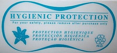 Hygienic Liners for Lingerie / Bathing Suits (500 Lot) CLEAR Hygenic Liners