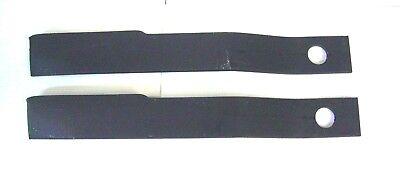 Rotary Cutter Blades 24 34 Long 1 12 Bolt Hole Bush Hog 2 Pc 5 Brush Hog