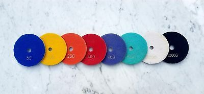 4 Diamond Polishing Pads Sets For Marble Granite Quartz