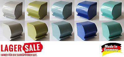 Toilettenpapierhalter Retro Design Nostalgie DDR WC Papierhalter - Farbauswahl