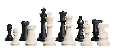 Uscf Sales Regulation Silicone  Rubber  Tournament Chess Set   Pieces Only   3 7