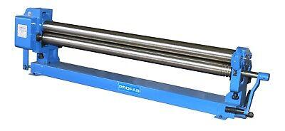 Manual Slip Roller 48 Long 3 Roll Diameter Hvac Ducting Ductwork Sheet Metal