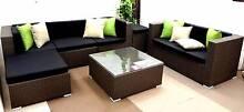 Outdoor Sofa Lounge 7 Seater Modular Byron. PE Rattan- Berwick Berwick Casey Area Preview